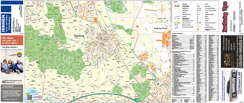 Portfolio Stadtplan Rümlang